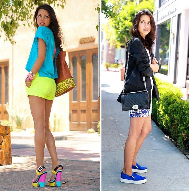 cum sa porti corect o pereche de pantofi colorai
