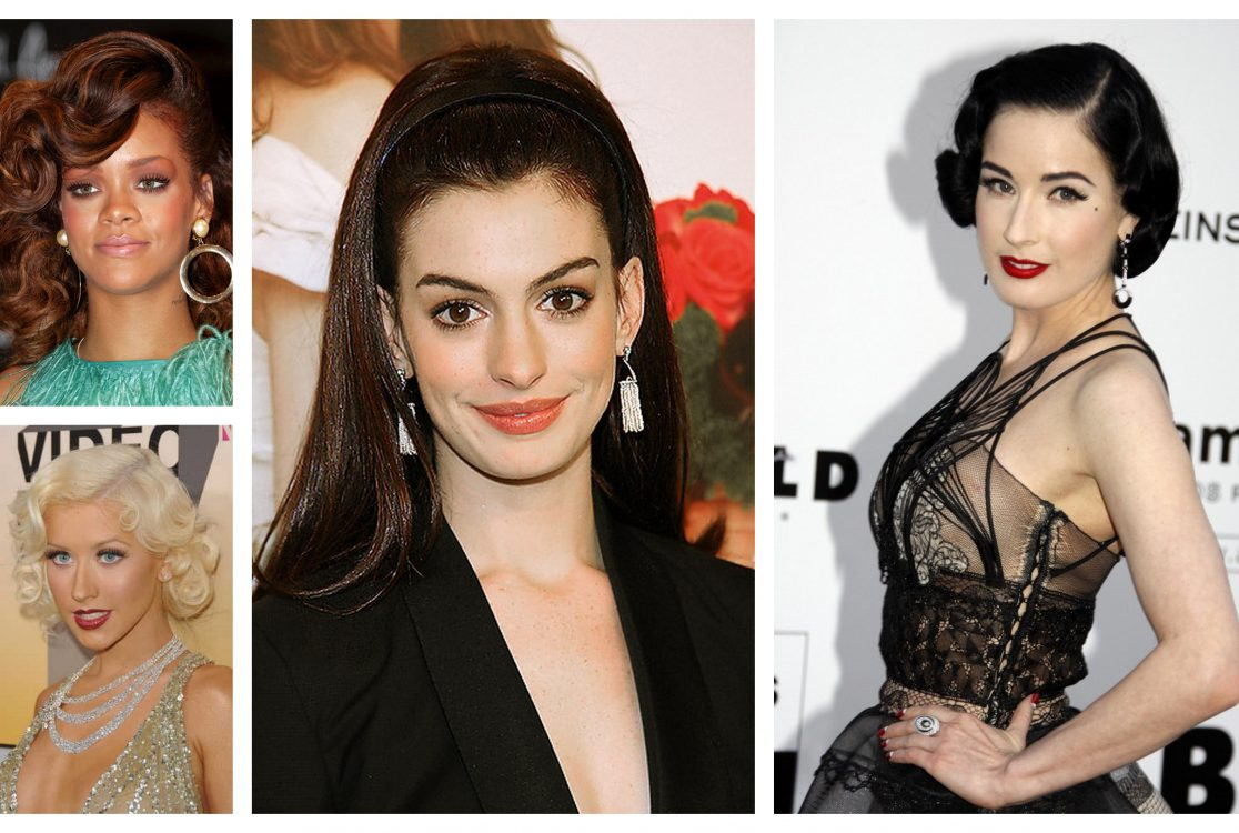 8 Idei De Coafuri Retro Pentru Sarbatori Glamour Girl