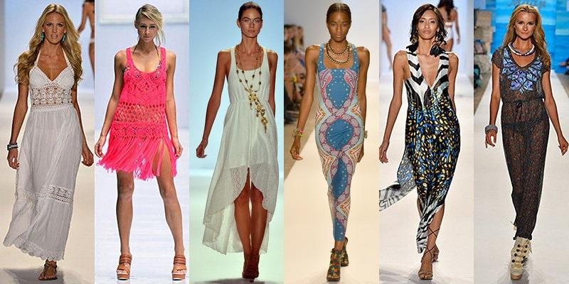 rochii de plaja 2014