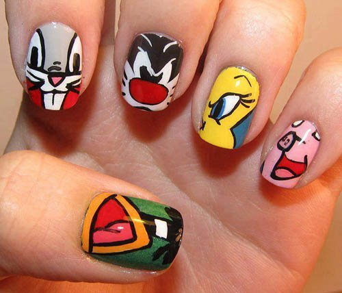 cartoon_nail_art_designs1