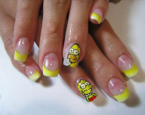 simpsons_nail_designs