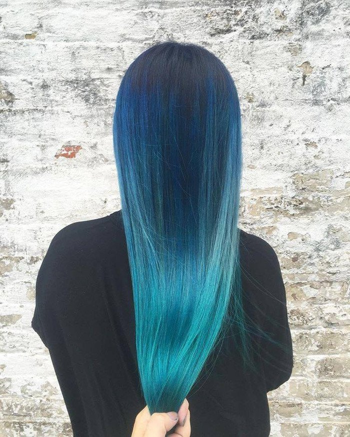 par albastru